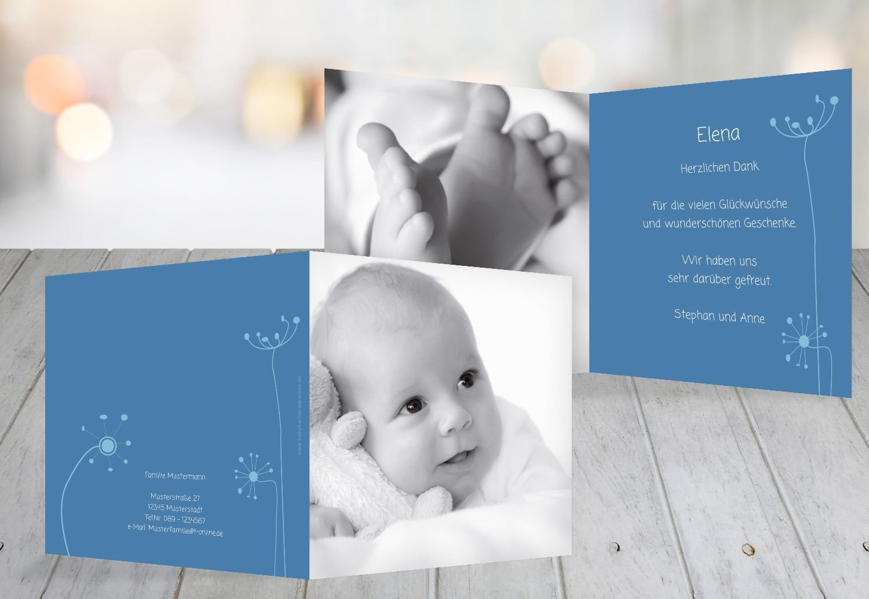 Kartenparadies Danksagung für Geburt Baby Dankeskarte abstrakte Blaumen, hochwertige Danksagungskarte Baby inklusive Umschläge   100 Karten - (Format  145x145 mm) Farbe  Orange B01N7Y4QYK   Online Store    Der neueste Stil    Sonderpreis