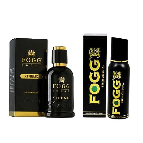 Buy Fogg Combo Of Scent Xtremo Perfume 90ml And Fresh Deodorant