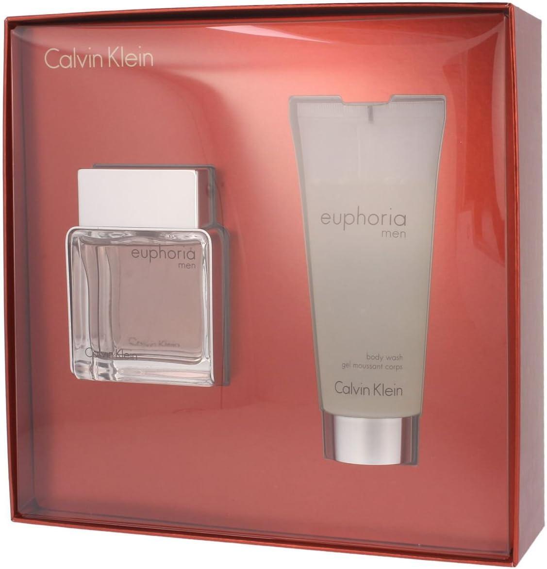 Calvin Klein - Estuche de regalo Eau de Toilette euphoria Men: Amazon.es: Belleza