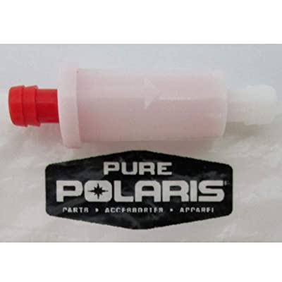 Polaris Small Inline Fuel Filter 2530009: Automotive