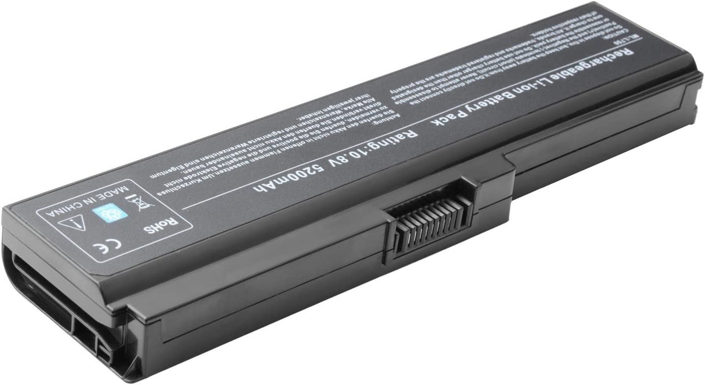 Replacement Battery Compatible with Toshiba PA3816U-1BRS PA3816U-1BAS PA3817U-1BRS PA3817U-1BAS PA3818U-1BRS PA3819U-1BRS PABAS227 PABAS228 PABAS229 PABAS230