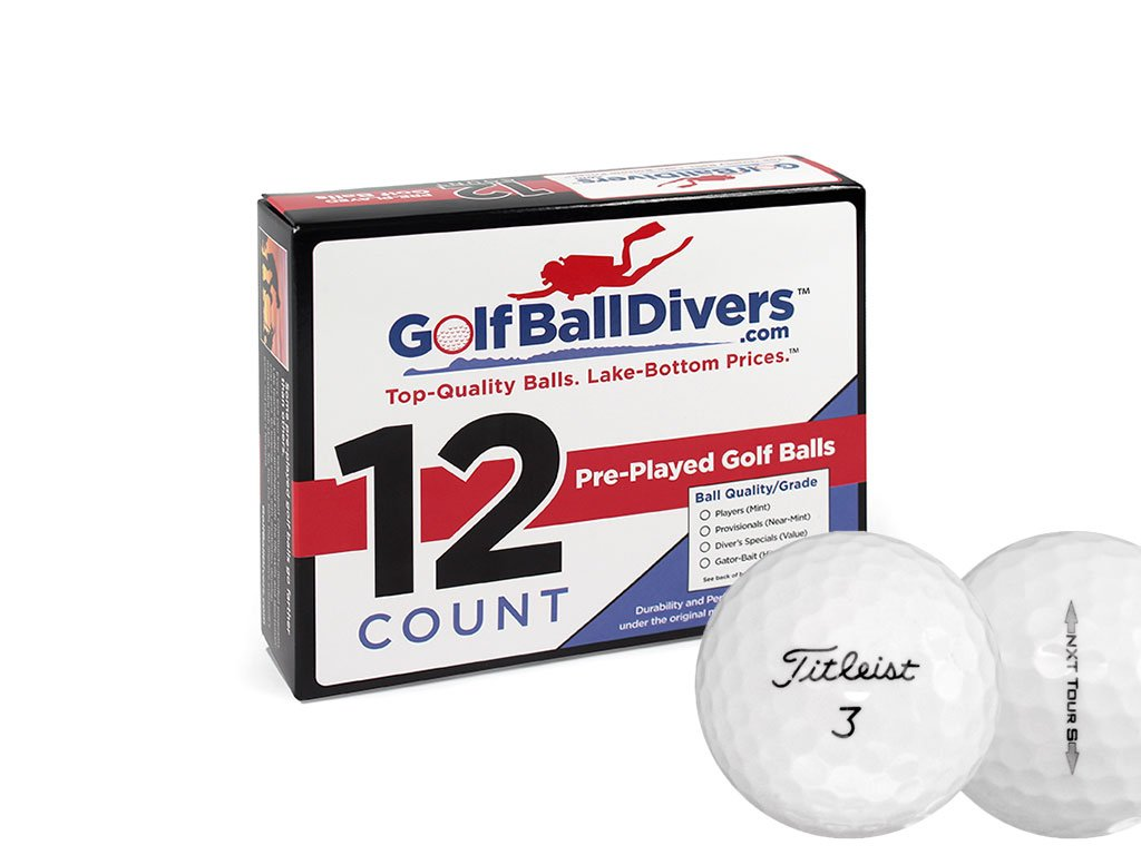 24 Titleist NXT Tour S - Near Mint (AAAA) Grade - Recycled (Used) Golf Balls