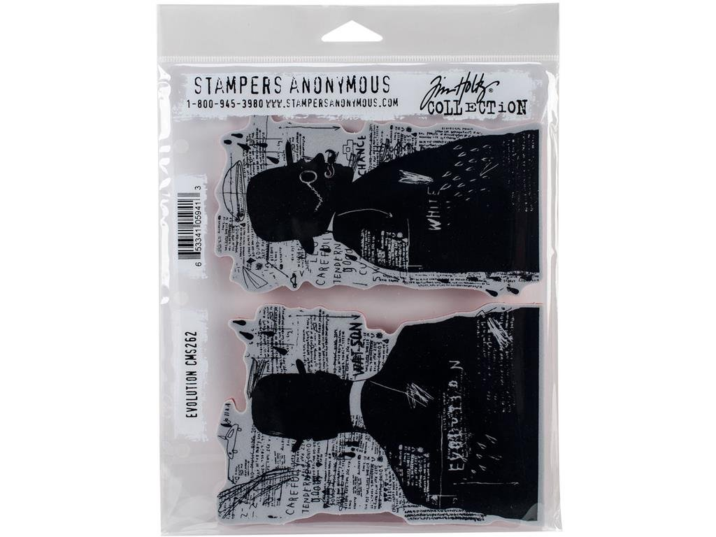 Stampers Anonymous CMS Set StampersA Cling Stamp THoltz Evolution