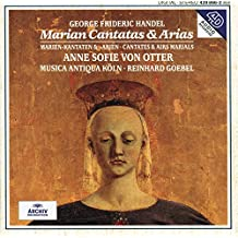 Handel: Marian Cantatas And Arias