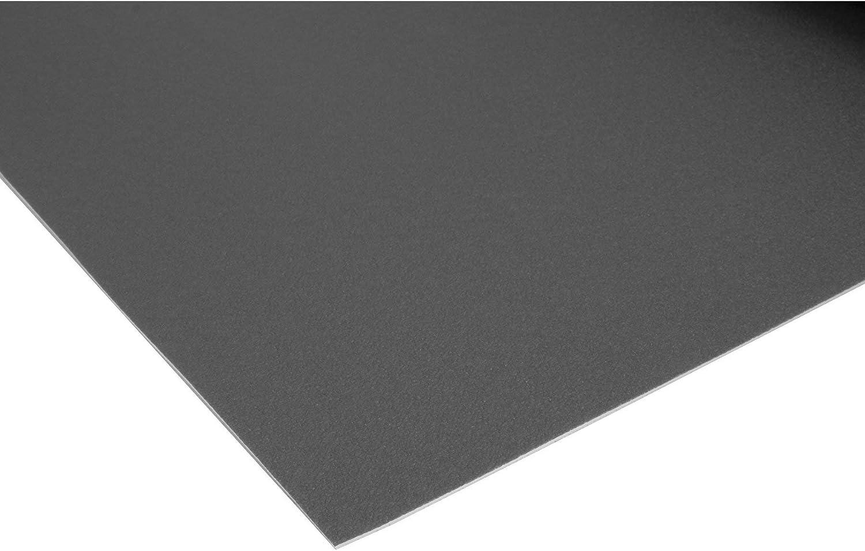 Einfarbig 2,00m x 3,50m PVC Bodenbelag EXPOTOP Profi Vinylboden Uni Schwarz PVC Boden Meterware Vinyl Schwer Entflammbar
