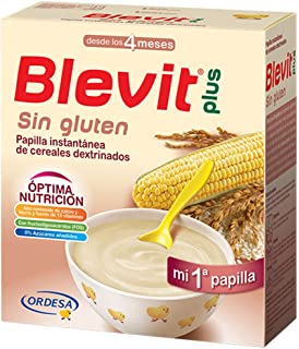Blevit - Papilla Sin Gluten Blevit Plus 600gr 4m+: Amazon.es ...
