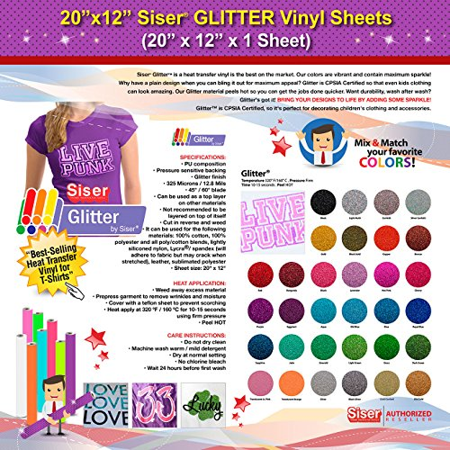 GERCUTTER Glitter Transfer Sheets 12 Inch product image