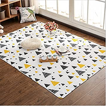 GRENSS Nouveau Fashion Style Japonais Simple Doux Coton Grand Tapis ...