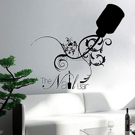 Salon de beauté Nail Salon Studio Bar Chambre Mur Art Vinyle Autocollant V450