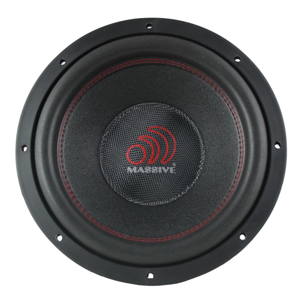 Car Subwoofer by Massive Audio TOROX122 - Bass and Sound Quality Woofer for Trucks, Cars, Jeeps - 12 Inch Car Audio 2,000 Watt Competition Subwoofer (Dual 2 Ohm - 3 Inch Voice Coil). Sold As Each by Massive Audio