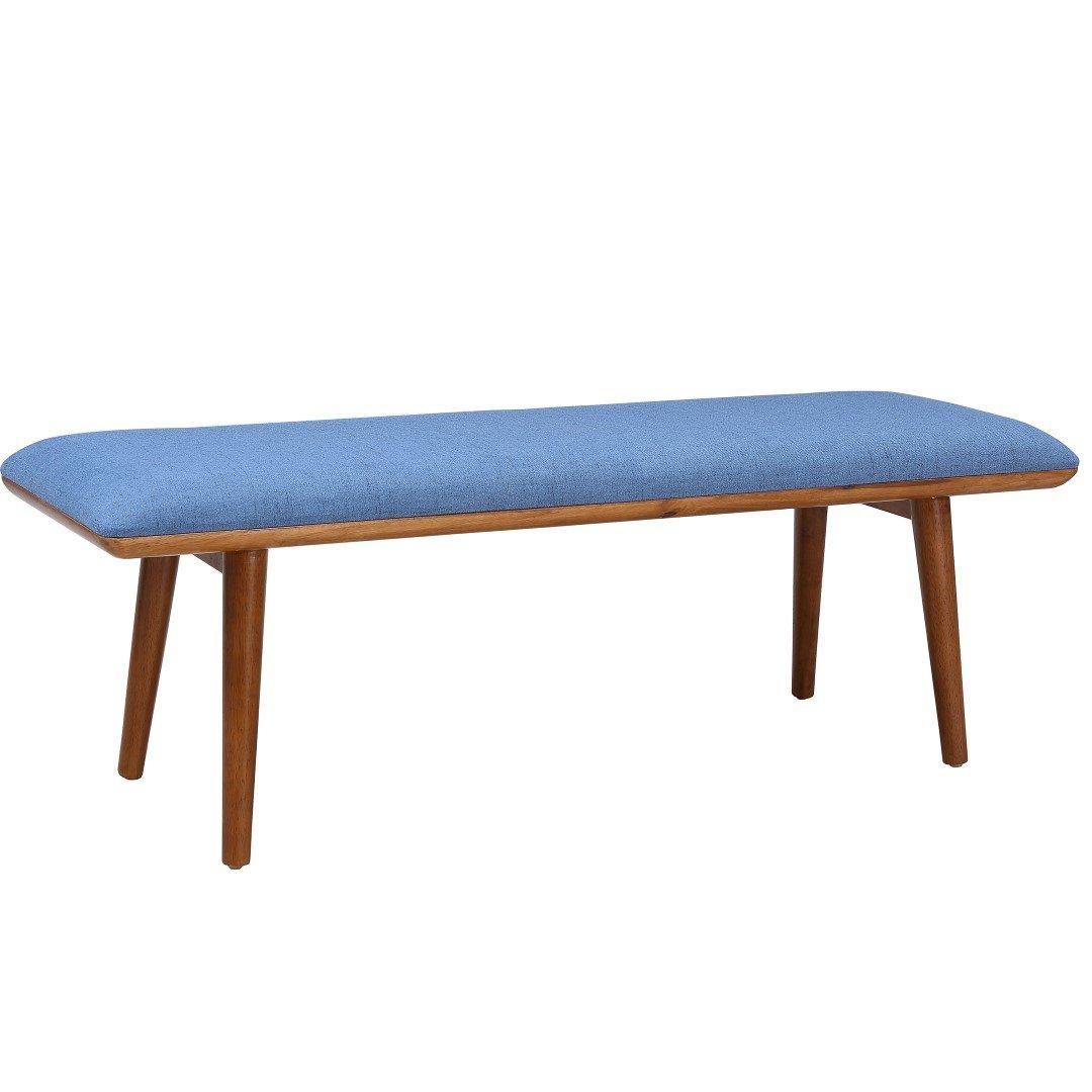 Matilda Upholstered Bench Blue