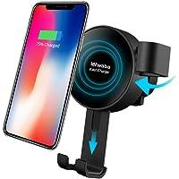 Waba Car Mount Air Vent Phone Holder Cradle for Samsung Galaxy (Black)
