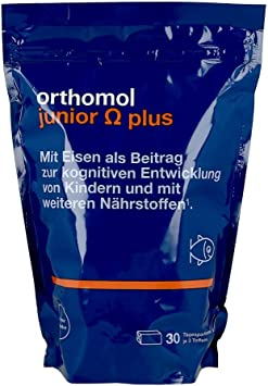 Orthomol Junior Omega Plus Toffees 30 St Tabletten Amazon De Drogerie Körperpflege