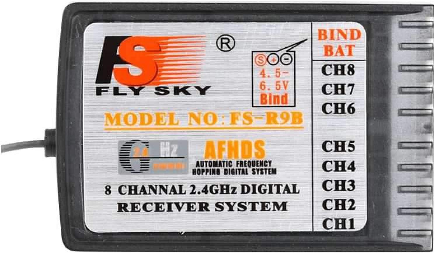 Flysky FS-R9B High Precision 2.4G 8CH Digtal Receiver for Turnigy 9X FS-TH9B 9CH Remote Controller All Flysky Transmitter