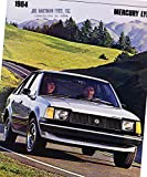 1985 Mercury Lynx 22-page Original Car Dealer Sales Brochure Catalog
