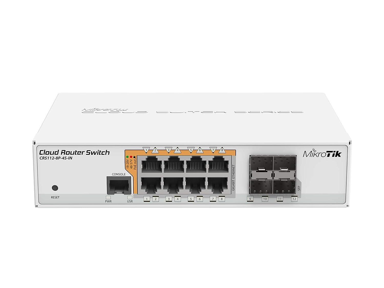Amazon com: MikroTik Gigabit Ethernet Smart Switch with PoE