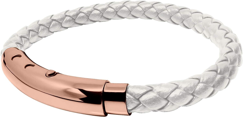 Leather Bracelet Wrist CuffCelticTribal. Adjustable Size Simple Line Pattern Made of Leather