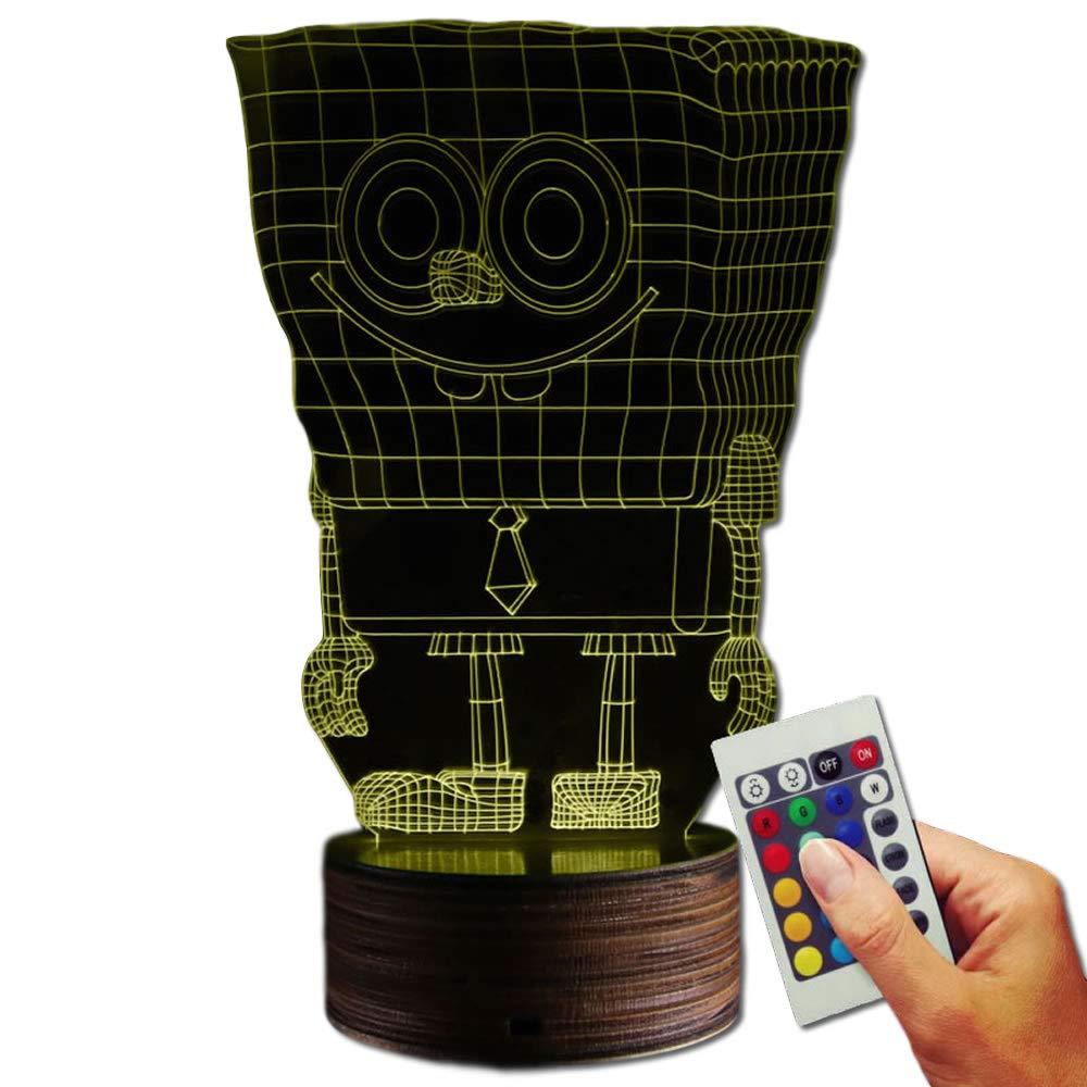 SpongeBob Dekolampe Here I Am (3D-Hologramm Illusion) Stuff4Players
