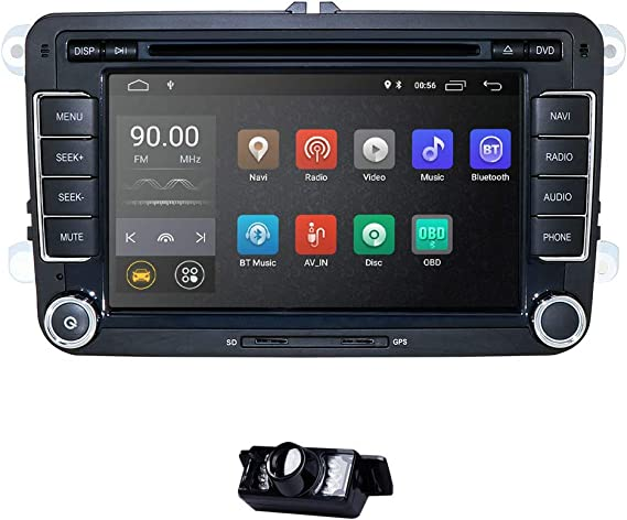 Android 9.0 Car Radio para VW Radio con Navi Compatible con ...