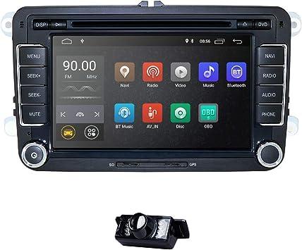 Android 10 Autoradio Für Vw Radio Mit Navi Unterstützt Elektronik