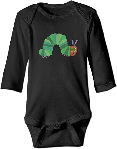 Baby Boys Girls Short Sleeve The Very Hungry Caterpillar Bobysuit Onesie