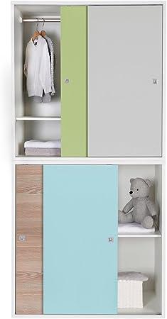 Schardt clic Armario Element clic con puertas correderas 90 x 53 cm: SCHARDT: Amazon.es: Bebé