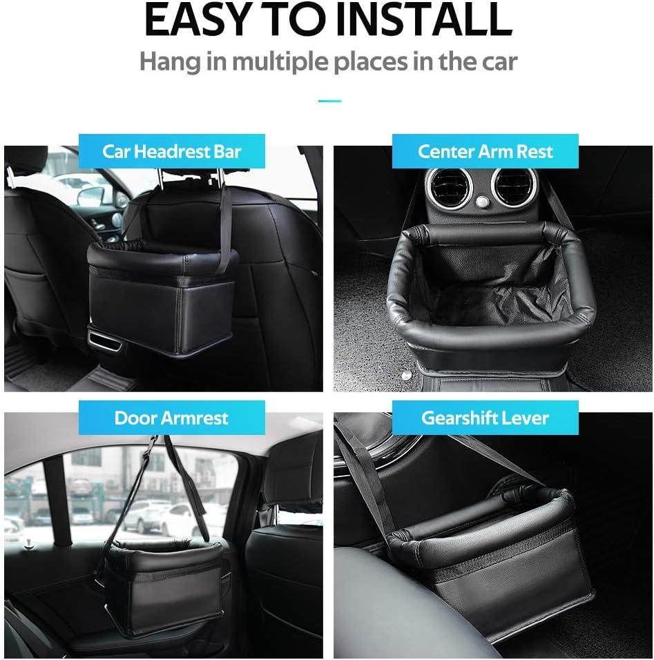 Wasserdicht Abfalltasche mit verstellbarem H/ängegurt auslaufsicherem Innenfutter als Snack-Beutel EASY EAGLE Auto M/ülleimer Faltbar Abfalltasche Auto Tasche