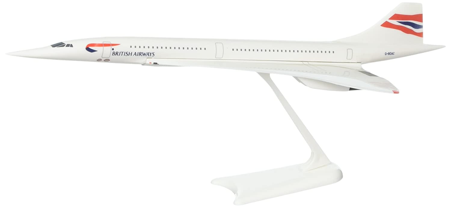 Daron Skymarks British Concorde Building Kit, 1/250 Scale