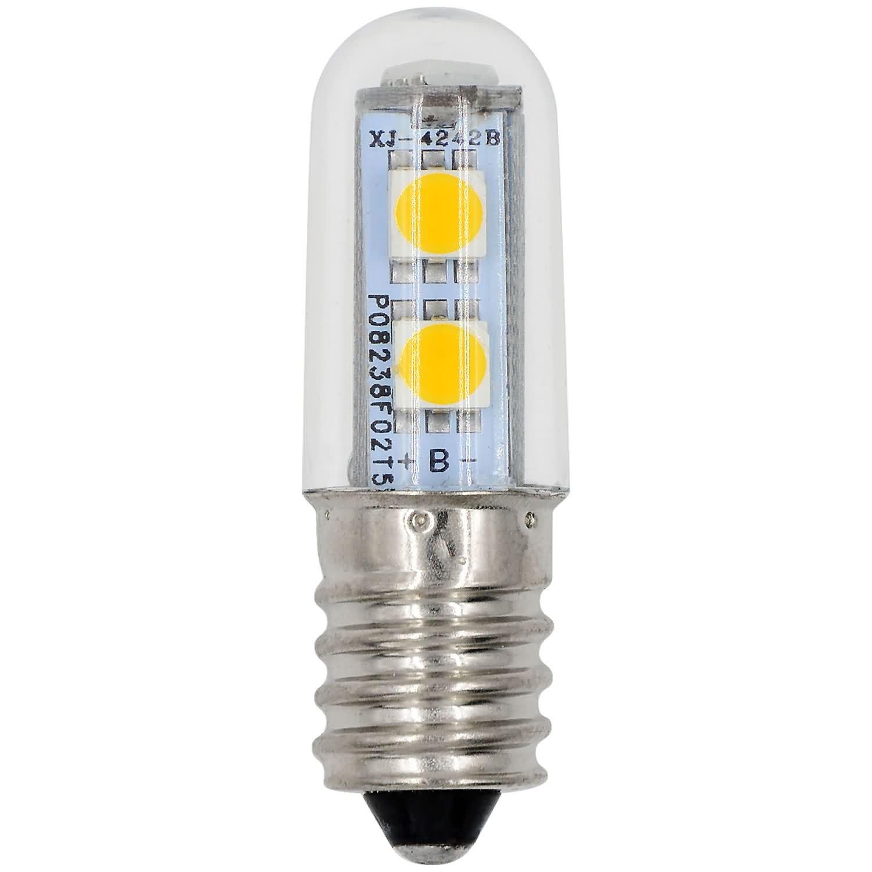 MENGS® 10 Stück E14 LED Lampe 1W AC 220-240V Warmweiß 3500K 7x5050 ...