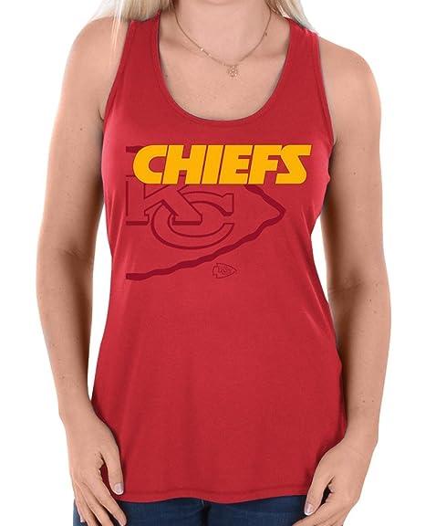 online store 4d2bd e7174 Amazon.com : Majestic Kansas City Chiefs Women's NFL Pregame ...