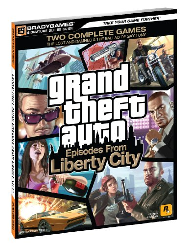 Auto Signature Gold - Grand Theft Auto: Episodes from Liberty City Signature Series Strategy Guide (Bradygames Signature Guides)