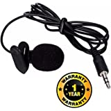 Rhobos Professional Mini Lavalier Lapel Microphone 3.5mm Omni Directional Condenser Clip Lav Mic