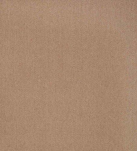 Beige Wool Hearth Rug - Wool Blend Dalton Rectangular Rug Low Profile Fire Resistant for Fireplace and Home 24 x 42 Ecru Herringbone