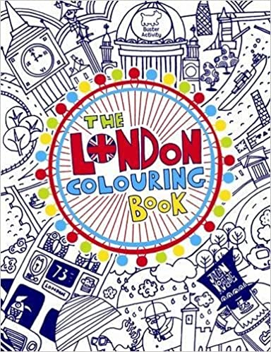The London Colouring Book Buster Books 9781780550213 Amazon