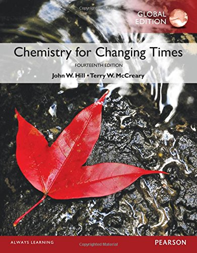 Download Chemistry For Changing Times, Global Edition PDF