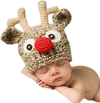 Amazon.com: Tinksky bebé hecho a mano punto Crochet Knit ...