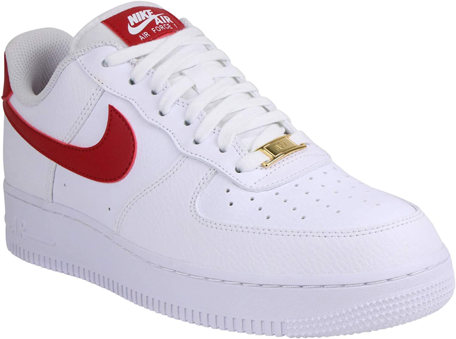 Nike Women's Air Force 1 '07 WhiteWild Cherry Noble Red