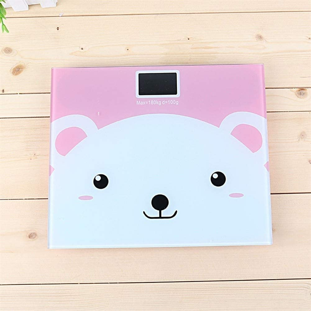 Professional Bathroom Scales Electronic LCD Monitor Anti-skid Design Weight Scale Weighing Machine Body Scale 3 Optional Durable (Color : 2) 1