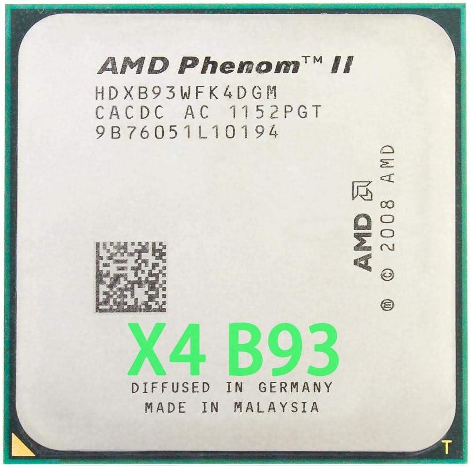 2.8Ghz// 6M //95W // 2000GHz Socket Am3 Am2+ AMD Phenom II X4 B93 CPU Processor Quad-Core