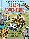 Safari Adventure Mega MagnaForms - Magnetic Play Set (Activity Books)