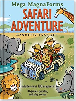 PDF Descargar Safari Adventure Mega Magnaforms: A Magnetic Play Set For Playful Adventurers Of All Ages [with Magnetic Board And Over 100 Magnets]
