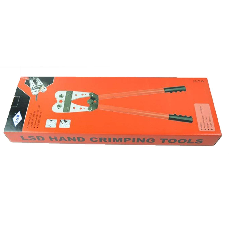 Dise/ño pr/áctico Herramienta que prensa para Alicates de prensado de tubos de cobre para la herramienta de engarzado de terminales CU//AL sin conexi/ón de cables de 25-150 mm/²