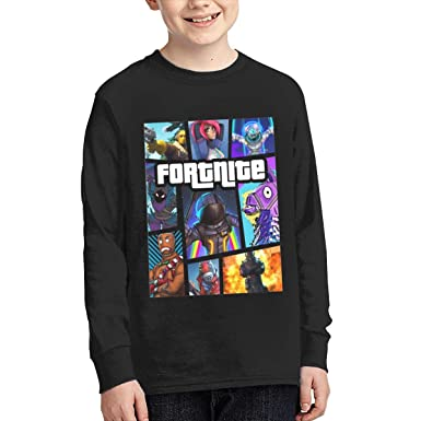 Amazon Com Fortnite Youth Teen Long Sleeve T Shirt For Boys Girl