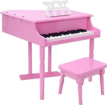 24 Teclas Juguete de Piano para niña,Teclado Piano de Cola