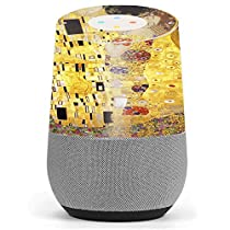 Skin Decal Vinyl Wrap for Google Home stickers skins cover / The Kiss painting Klimt