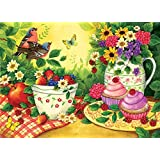SUNSOUT INC Cupcakes for Two 500 pc Jigsaw Puzzle