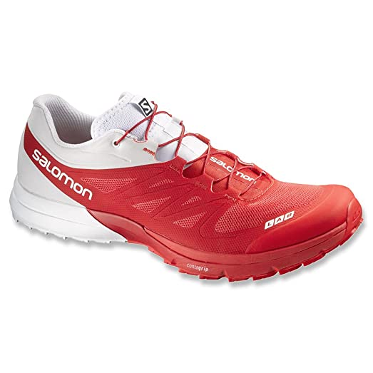 S-Lab Sense 4 Ultra Trail Running Shoes - AW15 - 13 - Red