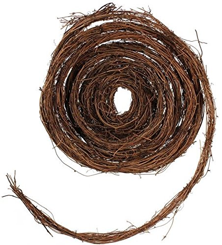 25 Foot Roll of Natural Dried Grapevine Garland
