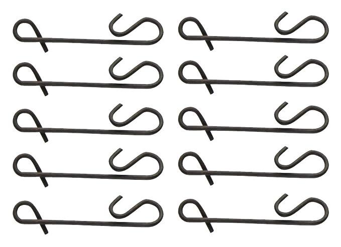 10 Knotenlos Verbinder Zum Spinnangeln Noknot Zum Verbinden der Hauptschnur mit Dem Vorfach FTM Seika Pro Knotenlosverbinder