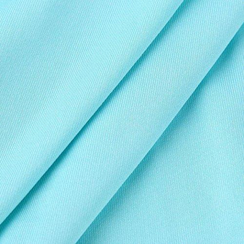 Bleu Manche Soire Longue Chic de Robe Boheme Robes Plage Elegante Sans d'onde Couture Dress Ete S Taille bande POachers Longue 3XL de Femme faFax
